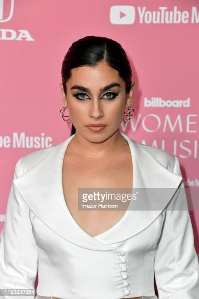 Lauren Jauregui attends the 2019 Billboard Women In Music at Hollywood Palladium on December 12 2019 in Los Angeles California