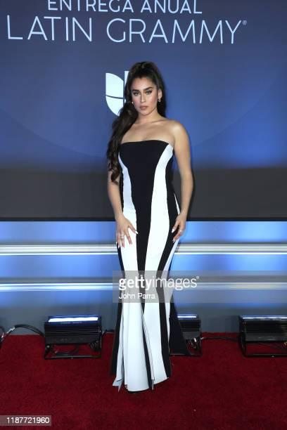 Lauren Jauregui attends the 20th annual Latin GRAMMY Awards at MGM Grand Garden Arena on November 14 2019 in Las Vegas Nevada