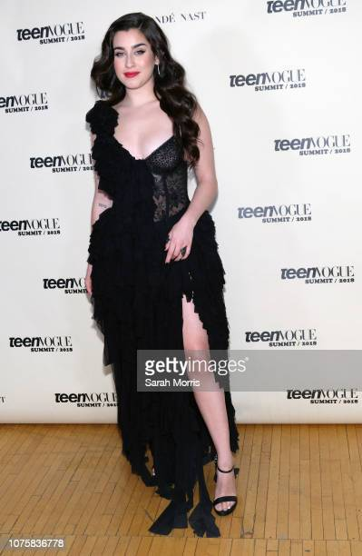 Lauren Jauregui attends the Teen Vogue Summit at 72andSunny on December 1, 2018 in Los Angeles, California.