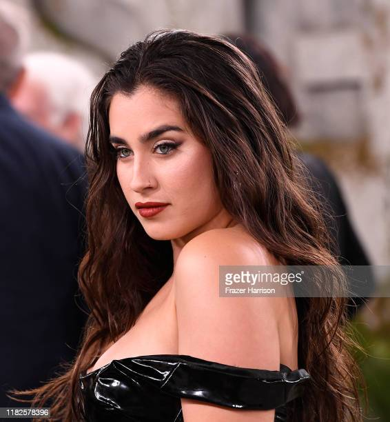 Lauren Jauregui attends the World Premiere Of Apple TV's See at Fox Village Theater on October 21 2019 in Los Angeles California