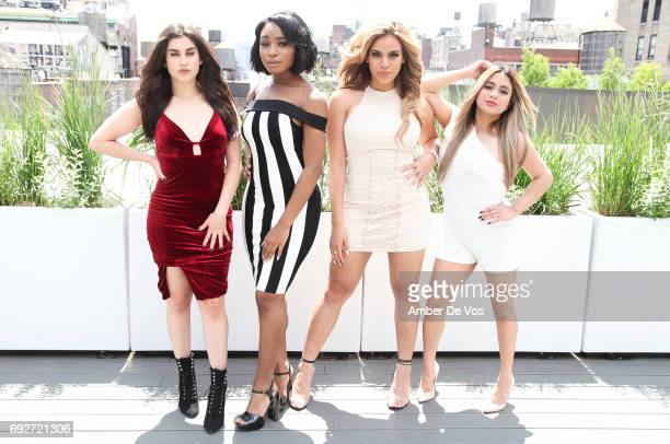Lauren Jauregui Normani Kordei Dinah Jane and Ally Brooke of Fifth Harmony attend Tumblr x Fifth Harmony Fan Event at Tumblr HQ on June 2 2017 in New...