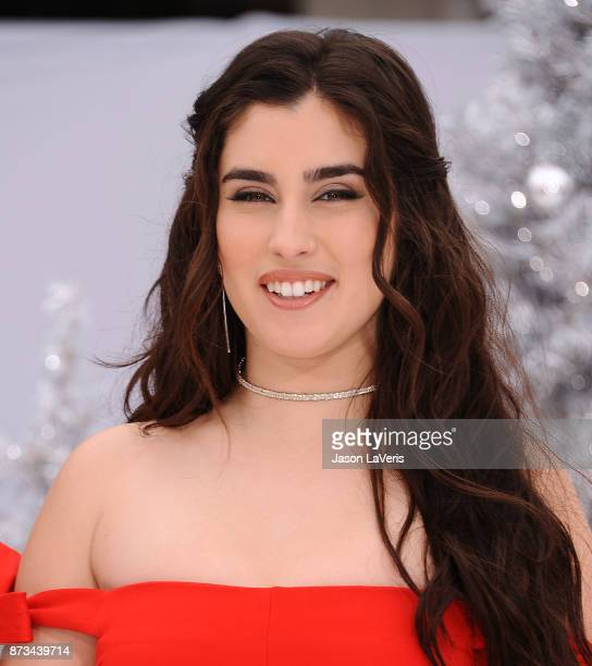 Lauren Jauregui of Fifth Harmony attends the premiere of 'The Star' at Regency Village Theatre on November 12 2017 in Westwood California