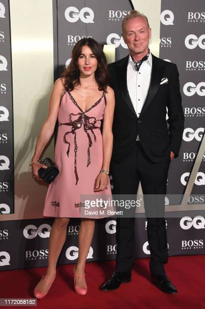 Lauren Kemp and Gary Kemp attend GQ Men Of The Year Awards 2019 in association with HUGO BOSS at Tate Modern on September 03 2019 in London England