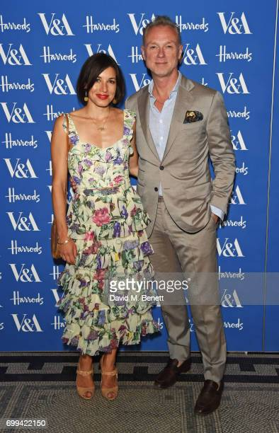 Lauren Kemp and Gary Kemp attend the 2017 annual VA Summer Party in partnership with Harrods at the Victoria and Albert Museum on June 21 2017 in...