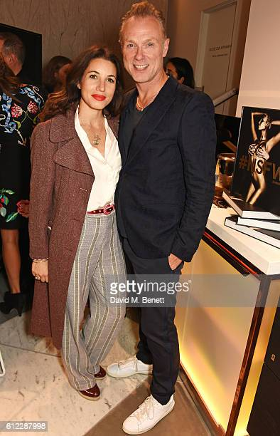 Lauren Kemp and Gary Kemp attend the launch of SX Rankin a new fragrance collaboration between photographer Rankin and fragrance designer Azzi...