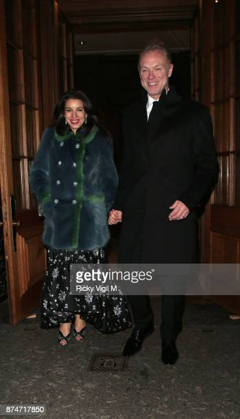 Lauren Kemp and Gary Kemp attend the Leopard Awards in Aid of the Prince's Trust at Goldsmith's Hall on November 15 2017 in London England