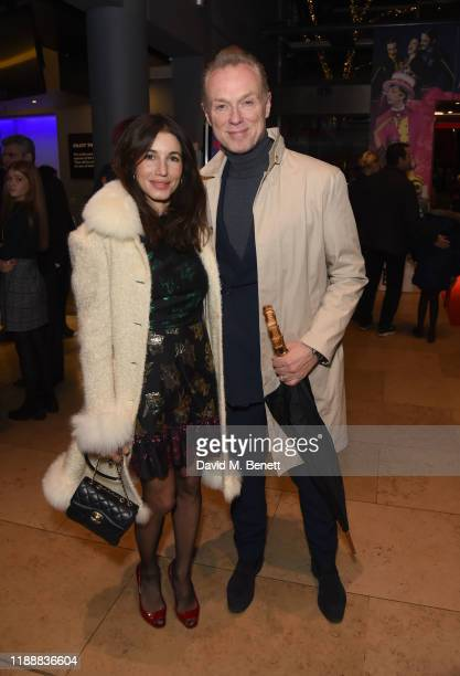 Lauren Kemp and Gary Kemp attend the press night performance of Matthew Bourne's The Red Shoes at Sadler's Wells Theatre on December 15 2019 in...
