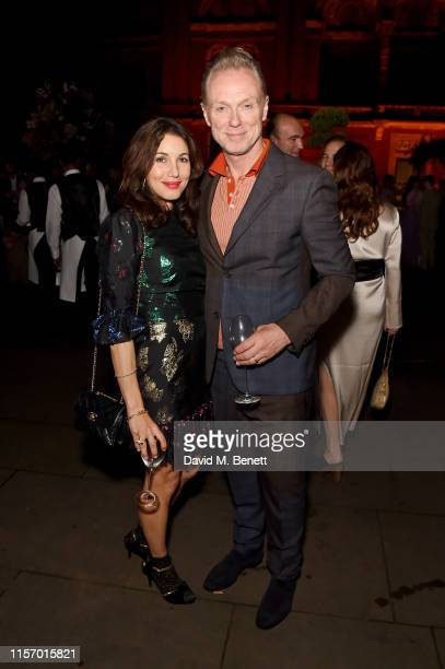 Lauren Kemp and Gary Kemp attend The VA Summer Party 2019 in partnership with Dior on June 19 2019 in London England