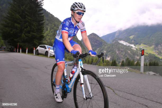 Lauren Kitchen of Australia and Team FDJ Nouvelle Aquitaine Futuroscope / during the 29th Tour of Italy 2018 Women Stage 7 a 15km Individual time...