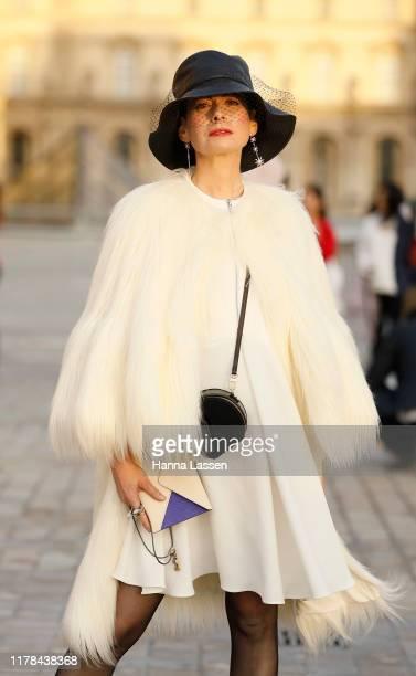 Lauren Kulchinsky Levison wearing Louis Vuitton outside Louis Vuitton Paris Fashion Week Womenswear Spring Summer 2020 on October 01, 2019 in Paris,...