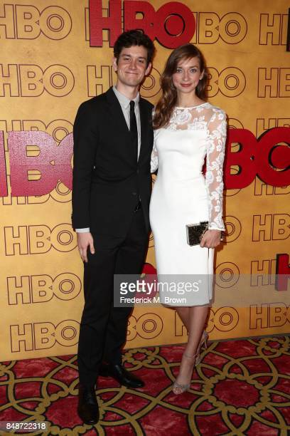 Lauren Lapkus and guest attend HBO's Post Emmy Awards Reception at The Plaza at the Pacific Design Center on September 17 2017 in Los Angeles...