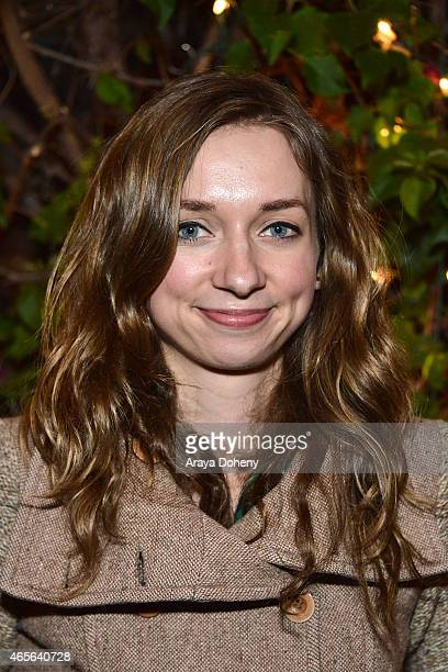 Lauren Lapkus attends the 4th Annual Wayne Federman International Film Festival at Cinefamily on March 8 2015 in Los Angeles California