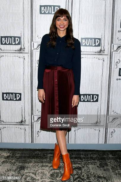 Lauren Lapkus attends the Build Series to discuss 'Between Two Ferns The Movie' at Build Studio on September 23 2019 in New York City