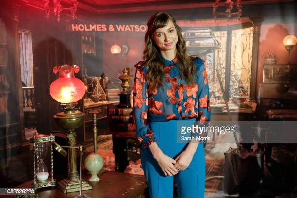 Lauren Lapkus attends the Holmes Watson photo call at The London West Hollywood on December 14 2018 in West Hollywood California
