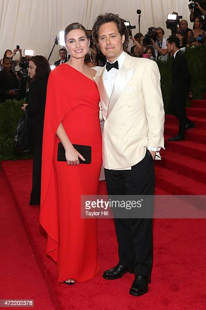 Lauren Lauren and David Lauren attend 'China Through the Looking Glass' the 2015 Costume Institute Gala at Metropolitan Museum of Art on May 4 2015...