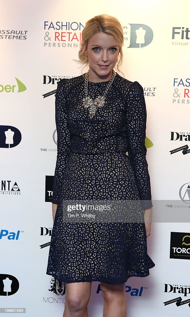 Lauren Laverne attends the Drapers Fashion Awards at Grosvenor House, on November 21, 2012 in London, England.
