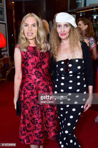 Lauren Lawrence and Joyce Brooks attend Bastille Day Party Hosted by Jean Shafiroff at Le Cirque on July 13 2017 in New York City
