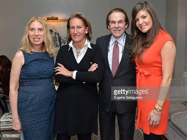 Lauren Lawrence Christine Schott R Cori Hay and Nicole Noonan attend the MichelleMarie Heinemann Consuelo Vanderbilt Costin and Lauren Lawrence Host...