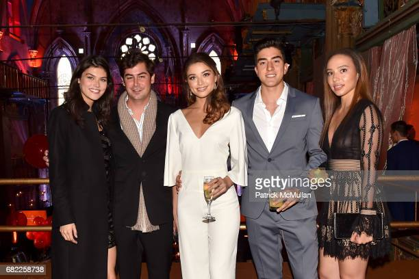 Lauren Layne Georgie Merck Daniela Lopez Mateo Lopez and Angela Osorio attend the Many Hopes Spring Ball at The Angel Orensanz Foundation on May 11...