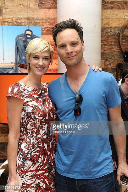 Lauren Lee Smith and Ben Cotton at Guess Portrait Studio on Day 2 during the 2013 Toronto International Film Festival at Bell Lightbox on on...