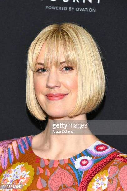 Lauren Lee Smith at Ovation Presents Upcoming Programming at 2019 Winter TCA Tour With Julia Stiles Lena Olin Yannick Bisson Lauren Lee Smith and...