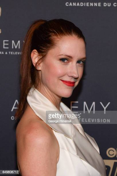 Lauren Lee Smith attends the 2017 Canadian Screen Awards Creative Fiction Gala at Westin Harbour Castle Hotel on March 8 2017 in Toronto Canada