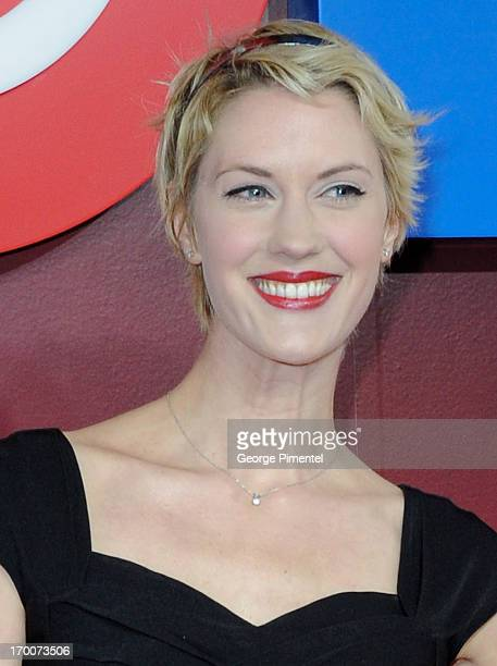 Lauren Lee Smith from 'The Listener' attends CTV Upfront 2013 Presentation at Sony Centre For Performing Arts on June 6 2013 in Toronto Canada