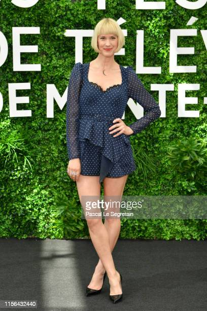 Lauren Lee Smith from the serie Frankie Drake Mysteries attends the 59th Monte Carlo TV Festival Day Four on June 17 2019 in MonteCarlo Monaco