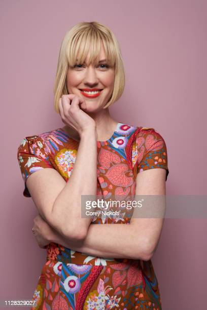 Lauren Lee Smith of CBC's 'Frankie Drake Mysteries' poses for a portrait during the 2019 Winter TCA Portrait Studio at The Langham Huntington...
