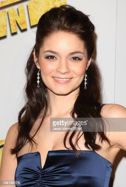 Lauren Leech arrives at the premiere of Summit Entertainment's 'Never Back Down' at the Cinerama Dome on March 4 2008 in Hollywood California