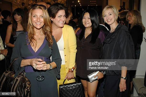 Lauren Lesser Connie Ann Phillips Susan Shin and Lisa Jordan attend VOGUE and ELIE TAHARI host cocktails to celebrate TATIANA BONCOMPAGNI's new book...