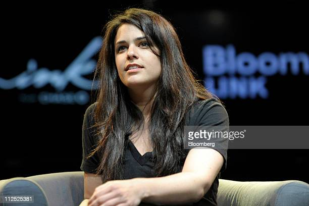 Lauren Leto chief executive officer of Bnter speaks at Bloomberg Link Empowered Entrepreneur Summit in New York US on Thursday April 14 2011 The...