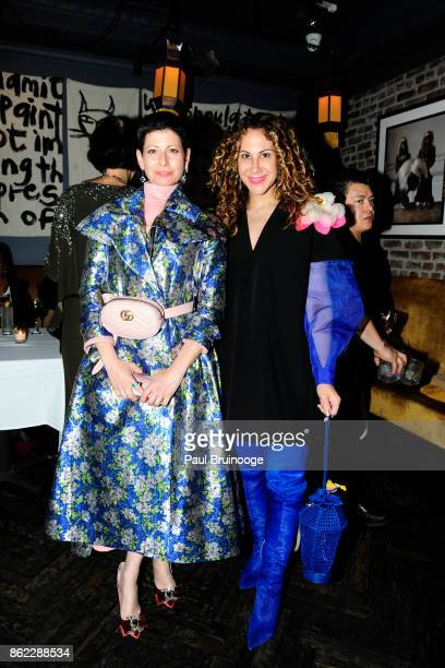 Lauren Levison and Alyson Cafiero attend NY LIFESTYLES Magazine celebrates Cover Girl Jean Shafiroff and her work supporting the Next Generation at...