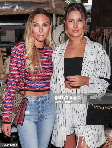 Lauren Lighter and Wyomi Reed attend Kindom Summer Soiree at Alchemy Works on July 19 2018 in Los Angeles California