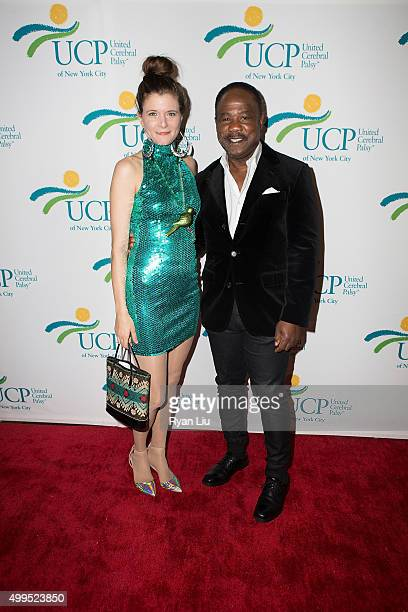 Lauren LoGiudice and Isiah Whitlock Jr attend the 6th Annual UCP Of NYC Santa Project Party and auction benefiting United Cerebral Palsy of New York...