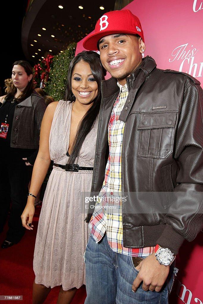 Chris Brown This Christmas.Lauren London And Chris Brown At The This Christmas