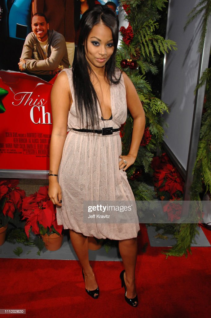 This Christmas Lauren London.Lauren London At The This Christmas Premiere At The