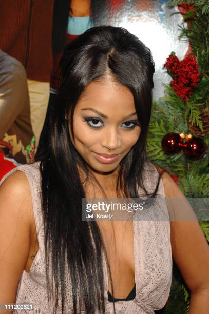 Lauren London at the This Christmas premiere at the Cinerama Dome on November 12 2007 in Hollywood California