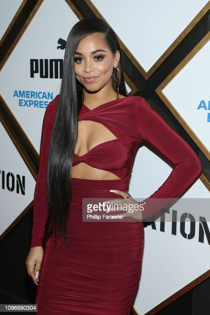 Lauren London attends 2019 Roc Nation THE BRUNCH on February 9 2019 in Los Angeles California