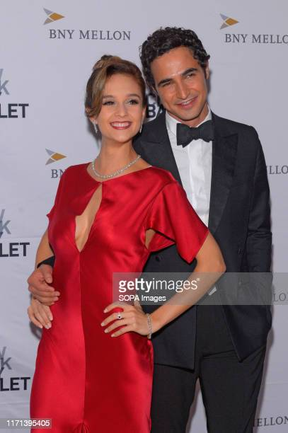 Lauren Lovette and Zac Posen attend the 8th Annual New York City Ballet Fall Fashion Gala at David H. Koch Theater, Lincoln Center.