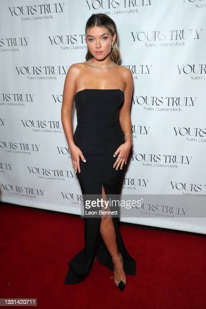 """Lauren Maenner attends Celebrity Photographer Sam Dameshek's Black Tie Book Release Event For """"Yours Truly"""" at Fellow on July 29, 2021 in Los..."""