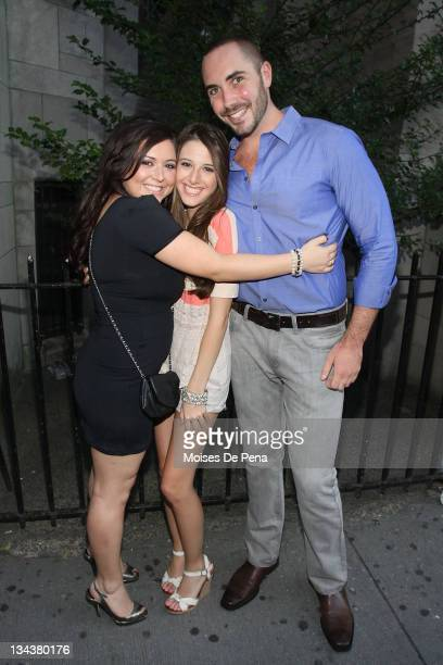 Lauren Manzo and Lexi Manzo attends the benefit performance of My Big Gay Italian Wedding to promote marriage equality at St Luke's Theater on June...