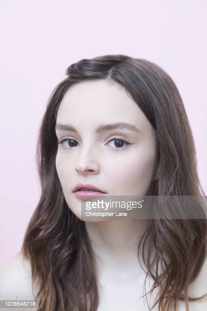 Lauren Mayberry of Chvrches are photographed for The Guardian Newspaper on May 5 2018 in Brooklyn New York