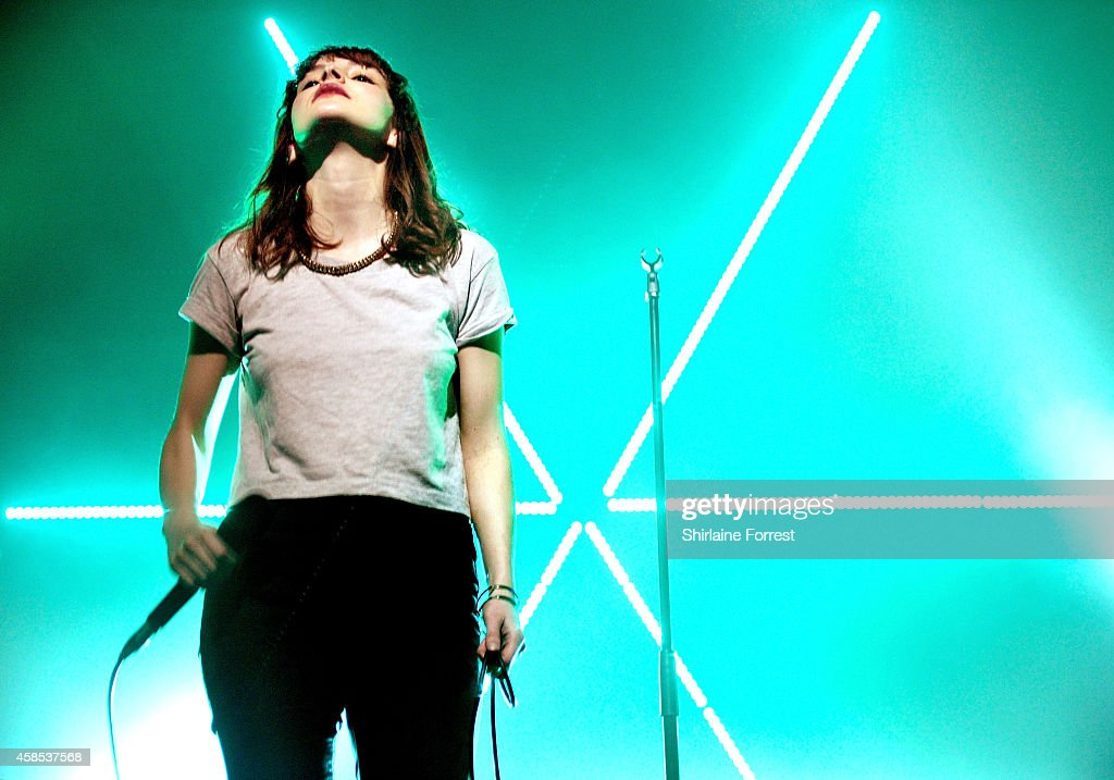 Chvrches Perform At The Manchester Academy
