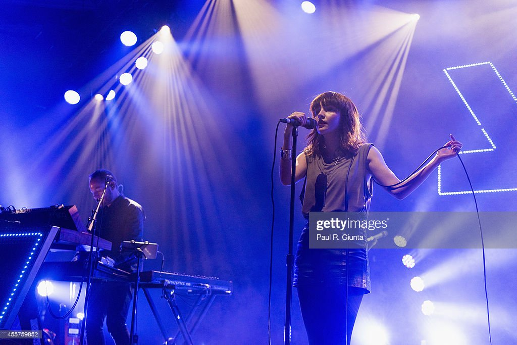 Chvrches  Perform At The Hollywood Palladium