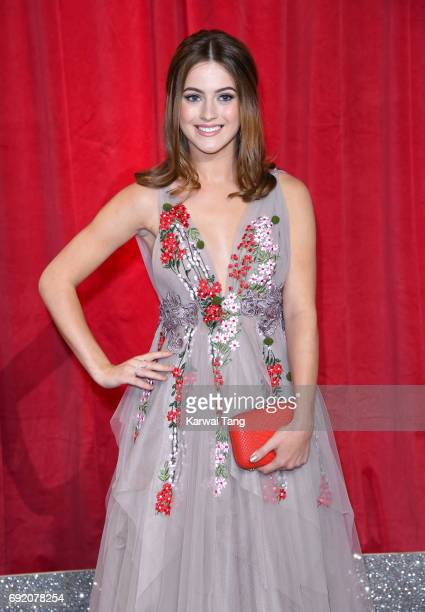 Lauren McQueen attends the British Soap Awards at The Lowry Theatre on June 3 2017 in Manchester England