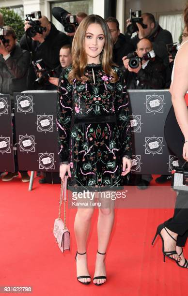 Lauren McQueen attends the TRIC Awards 2018 held at the Grosvenor House Hotel on March 13 2018 in London England