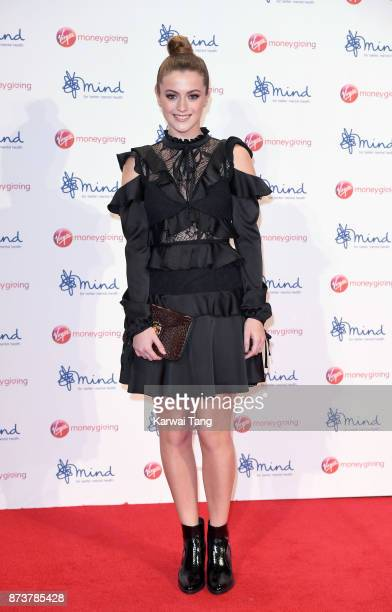 Lauren McQueen attends the Virgin Money Giving Mind Media Awards at Odeon Leicester Square on November 13 2017 in London England
