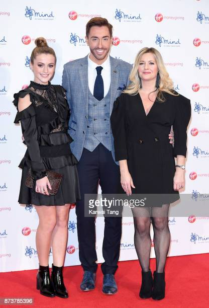 Lauren McQueen Ross Adams and Alexandra Fletcher attend the Virgin Money Giving Mind Media Awards at Odeon Leicester Square on November 13 2017 in...