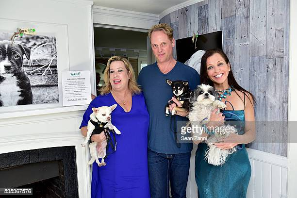 Lauren Merrill Todd Merrill and Wendy Diamond attend Animal Rescue Fund of the Hamptons 6th Annual Thrift Shop Designer Showhouse at ARF Thrift...